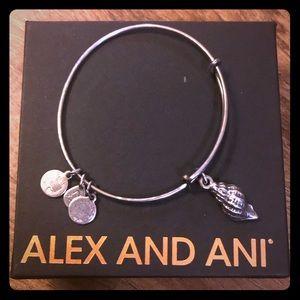 ALEX AND ANI Conch Shell Charm Bracelet